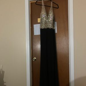 Crystal bodice Jovani prom/pageant gown. NWOT